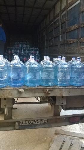 Поступление свежей партии воды